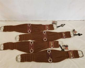 364	  New Classic Equine Alpaca Roping Cinches 4-New Classic Equine Alpaca Roping Cinches Size is 36""