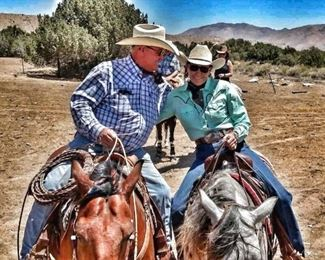 Earl and Rhonda Graham: We are at a time in our lives to call it the end of an era for us. We have been in the horse business all of our adult lives. This has been a very heart felt decision between both of us to take off the bridle and quit at this time. This is the best way we have decided to get all of our 45 years of success of running this horse business disbursed. All our horses are proven trail horses and have been used on all the event trail rides and in the summer camps.  We are hoping to find some very special people to transition our horses back to having a one family relationship and maybe doing other things too. This is a proven set of saddle horses.