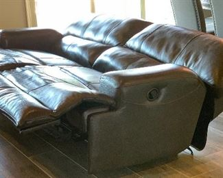 #1 Jackson Furniture Catnapper Faux Leather Reclining  Sofa/Couch41x90x42inHxWxD