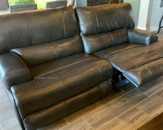 #2 Jackson Furniture Catnapper Faux Leather Reclining  Sofa/Couch41x90x42inHxWxD
