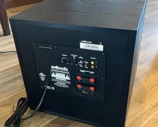 Polk Audio 10in Powered Subwoofer sub PSW10814x14.5x16inHxWxD