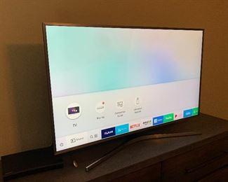 #2 Samsung 49IN UHD 4K SMART TV UN49MU700F23.75x43x12d (at base)HxWxD