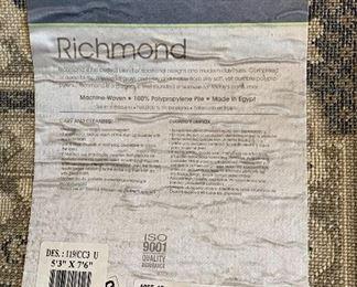 5x7 Oriental Weavers Richmond Area Rug5ft6in x 7ft 6in