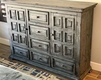 Grey Wood Weathered/Rustic Dresser45 x 61.5 x 18.5HxWxD