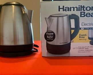 Hamilton Beach Electric Kettle Brand New