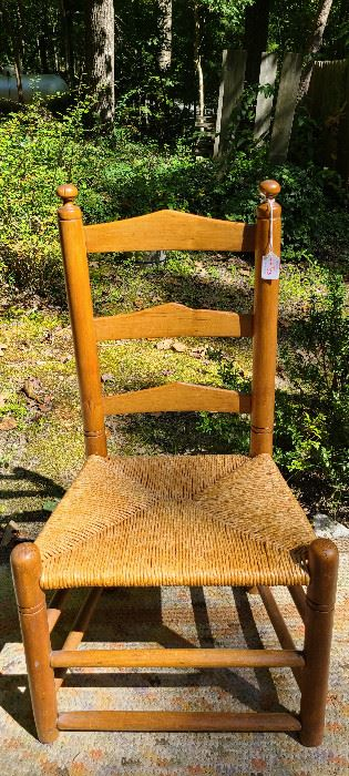 Virginia ladder back side chair