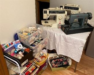 Sewing machines, accessories & notions.