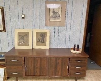 Office credenza.