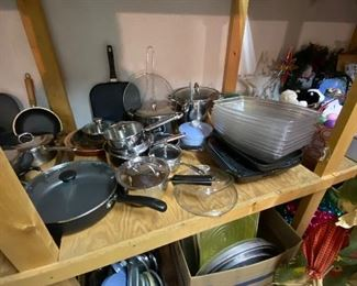 Good pots and pans!