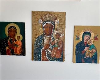 Large Black Madonna of Czestochowa  (Poland) paintings.
