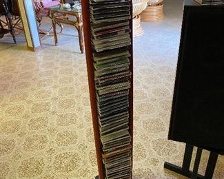 Lot's of CD's.