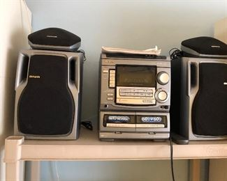 AWAI sound system with 4 speakers and more