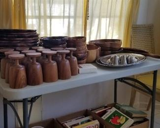 Hawaiian wooden ware