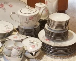 Service for 8 plus extras Noritake Rose Marie