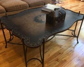 Great looking oversize coffee table