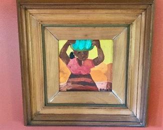 "$1,750 - Norma J Belleza,  Filipina b. 1938; original artwork. 16""H x  16""W"