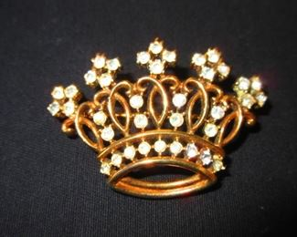 Trifari Sterling Crown