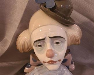 "Lladrò - ""Pensive"" Clown"