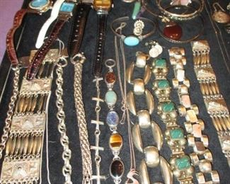 Mexican silver & sterling silver jewelry