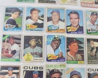 3 Lots of Baseball Cards