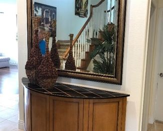 Nancy Corzine Console - custom made mirror