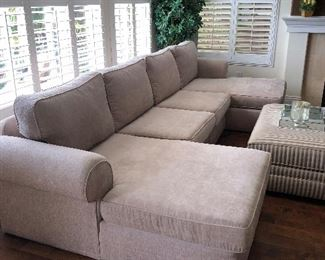 Custom Sofa - ottoman is not for sale
