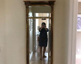 Hall mirror - in the Edwardian style
