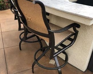 5 lounge Chairs - Tropitone