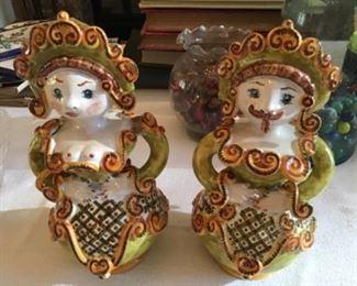 Mid-century figurines