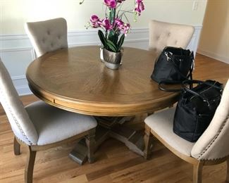 """kitchen table 54 inches chairs 3 ft. 4"""""""