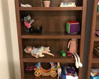 Three Wooden Book Shelves