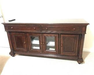 Dark Cherry Wood Dresser