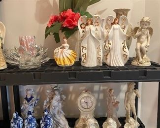 Lladro's and Porcelain Figurines
