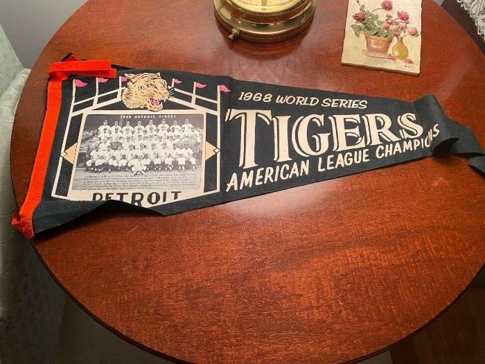 1968 Detroit Tigers Pennant