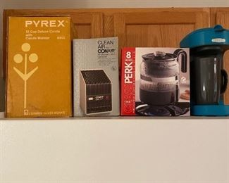 Pyrex Coffee Pots