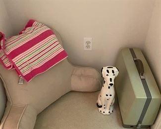 Dalmatian Ceramic Dog