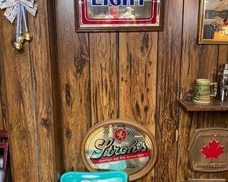 Vintage Beer Signs/Mirrors