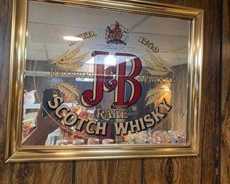 J & B Scotch Whiskey