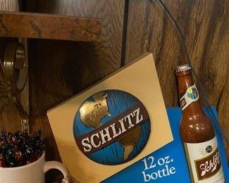 Schlitz Beer Sign