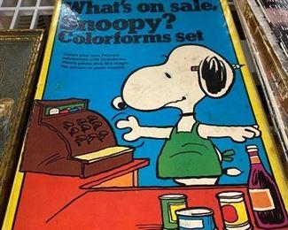 Snoopy Colorform
