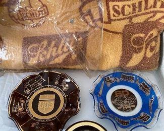 Schlitz Blanket, UPS Advertising Ruffled Dish