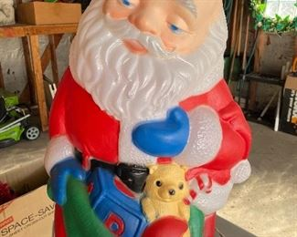 Blowmold Santa