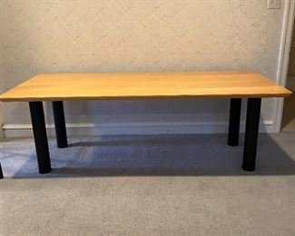 7ft. long x 3ft. wide table. Great for dining or crafts.
