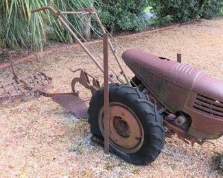 Vintage David Bradley Walk Behind Tractor