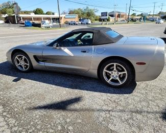 2000 Chevrolet Corvette Convertible, Fully Loaded,  Excellent Condition, New Tires, Current Inspection, 79,200 miles