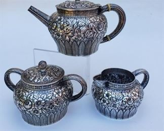 Tiffany Silver Tea Set