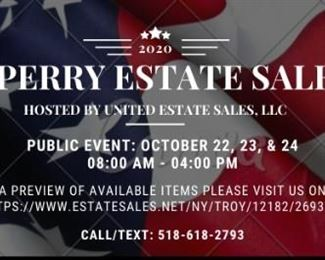 Sperry Estate Sale