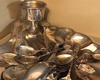 Sterling spoons