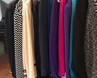 Women's St. John knit suits & separates, sizes 4-8, excellent condition - shop in person on sale days