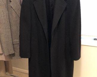 BUY IT NOW! $45 Men's Mark Shale cashmere overcoat sz 44 tall